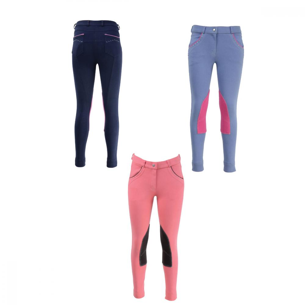 HyPERFORMANCE Darcy Diamante Children's Jodhpurs
