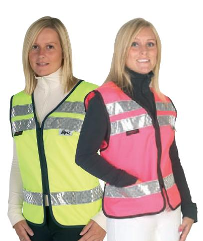 HyVIZ Reflective Adjustable Mesh Waistcoat with Phone Pocket