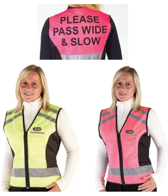 HyVIZ Reflective Waistcoat - Please Pass Wide and Slow