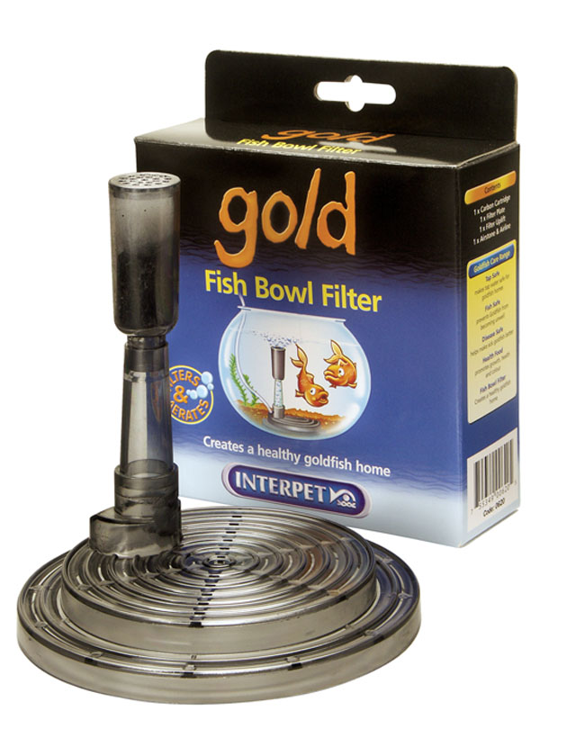 Interpet Gold Fish Bowl Filter