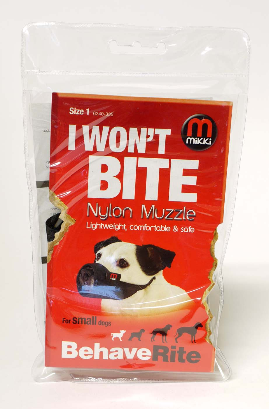 Mikki Nylon Muzzle for Dogs
