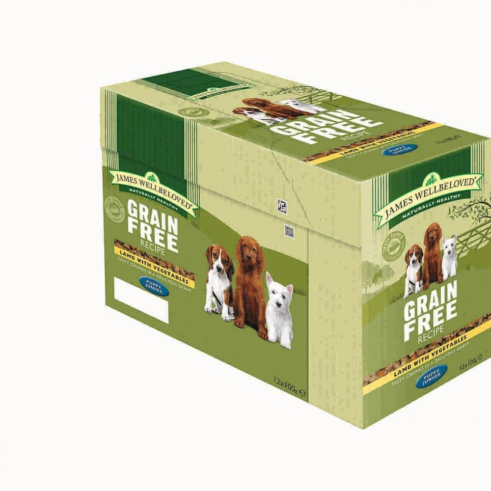 James Wellbeloved Grain Free Wet Puppy Food