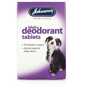 Johnson's Bitch & Deodorant Tablets for Dogs