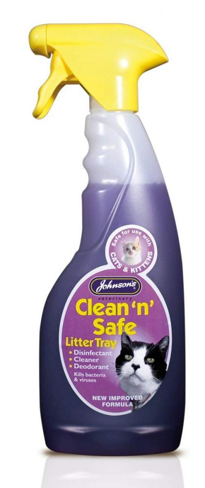 Johnson's Clean 'N' Safe Litter Tray