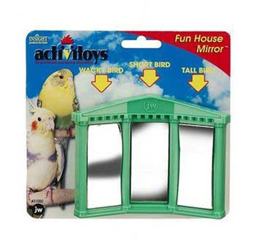 JW Pet Fun House Mirrors Bird Toy