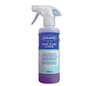 Keratex Cleansing Hoof & Leg Scrub for Horses