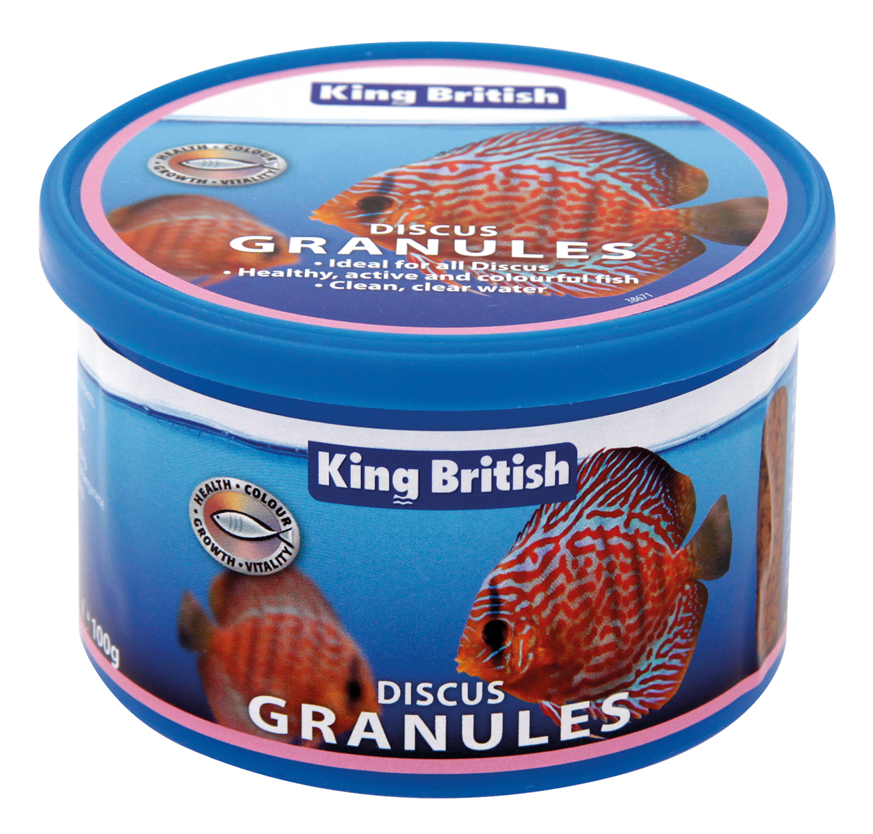 King British Discus Granules Fish Food