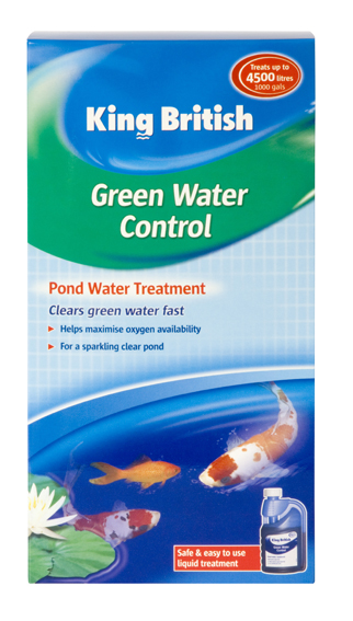 King British Green Water Control for Ponds
