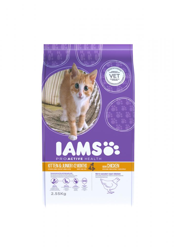 Iams Proactive Health Chicken Kitten & Junior Cat Food