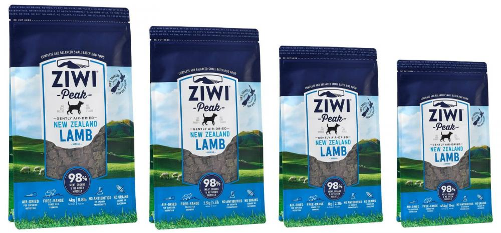 ZiwiPeak Daily Dog Air Dried Cuisine Lamb Dog Food