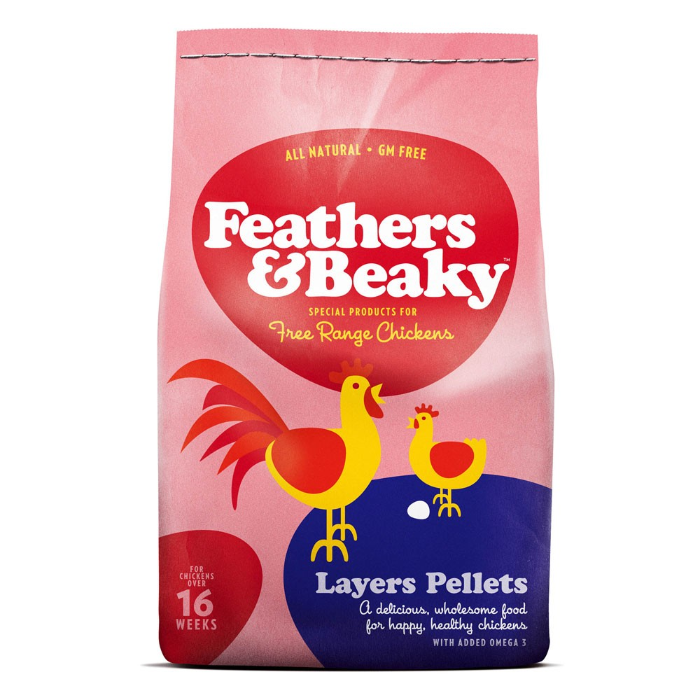 Feathers & Beaky Layers Pellets Chicken Food