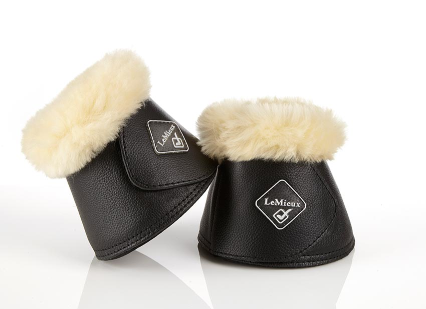 LeMieux Lambskin Wrap Around Over Reach Boots