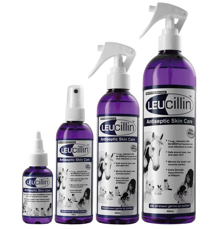 Leucillin Antiseptic Spray for Animals Wounds and Injuries