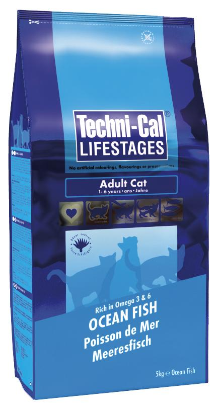 Techni-Cal Lifestages Adult Ocean Fish Cat Food