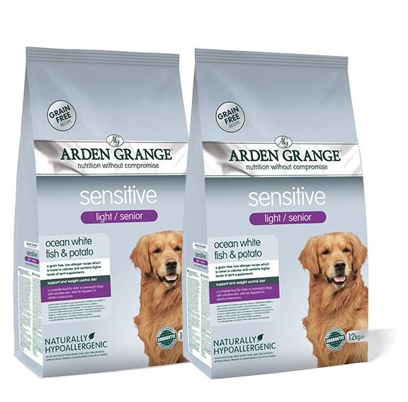 Arden Grange Dog Light / Senior Sensitive