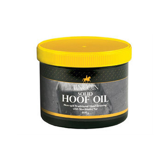 Lincoln Solid Hoof Oil for Horses