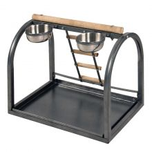 Little Friends Parrot Feeding Stand