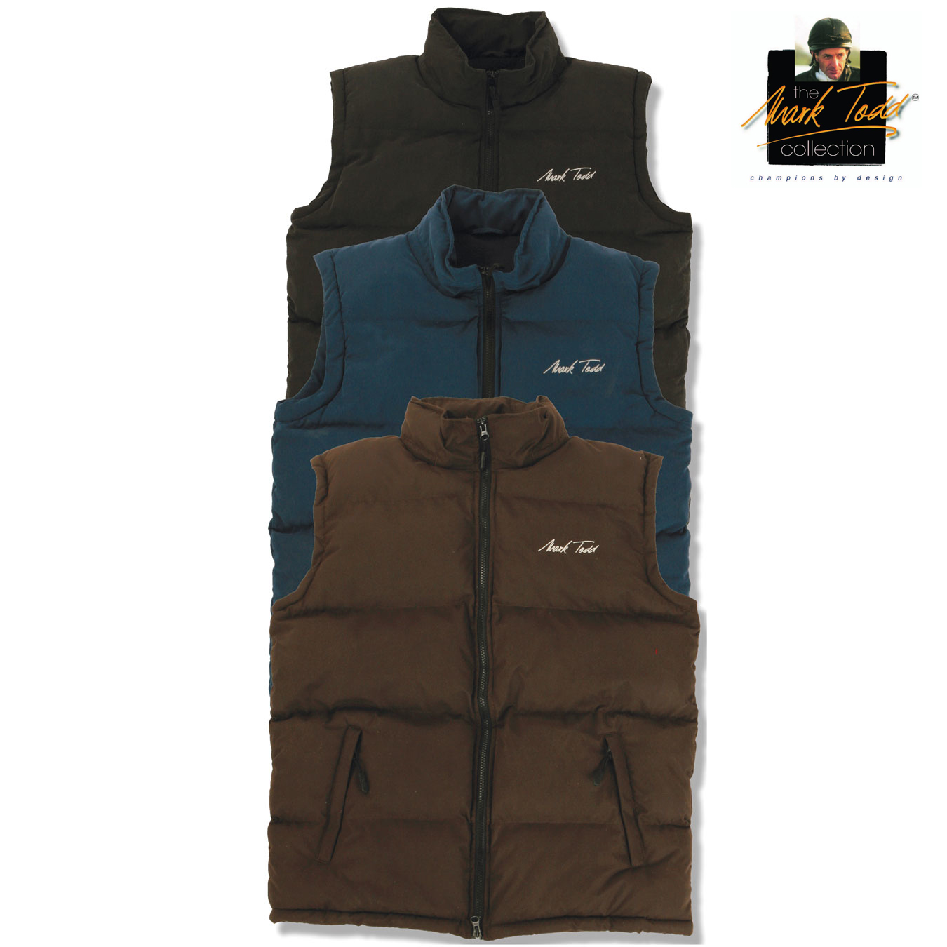 Mark Todd Unisex Padded Gilet