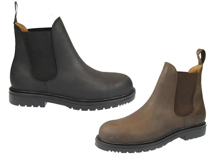 Mark Todd Steel Toe Capped Boots