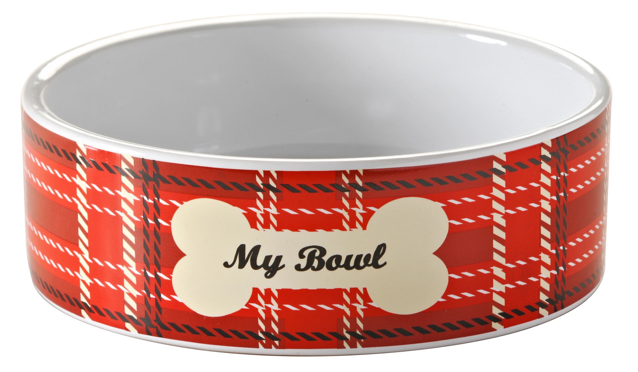 Mason Cash Tartan Pet Bowl