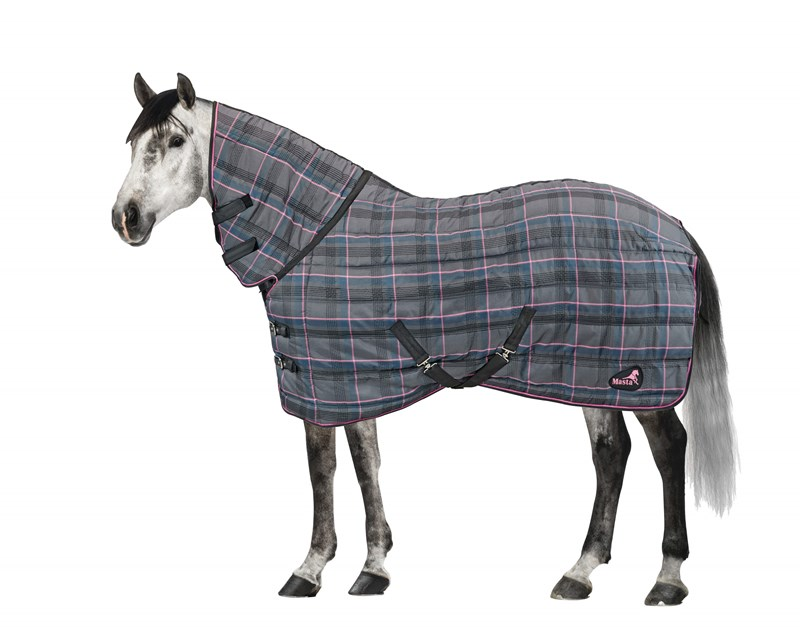 Masta Quiltmasta 350 Check Fixed Neck Stable Rug