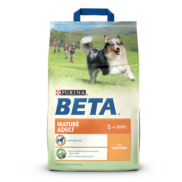PURINA BETA Mature Adult with Chicken Dog Food
