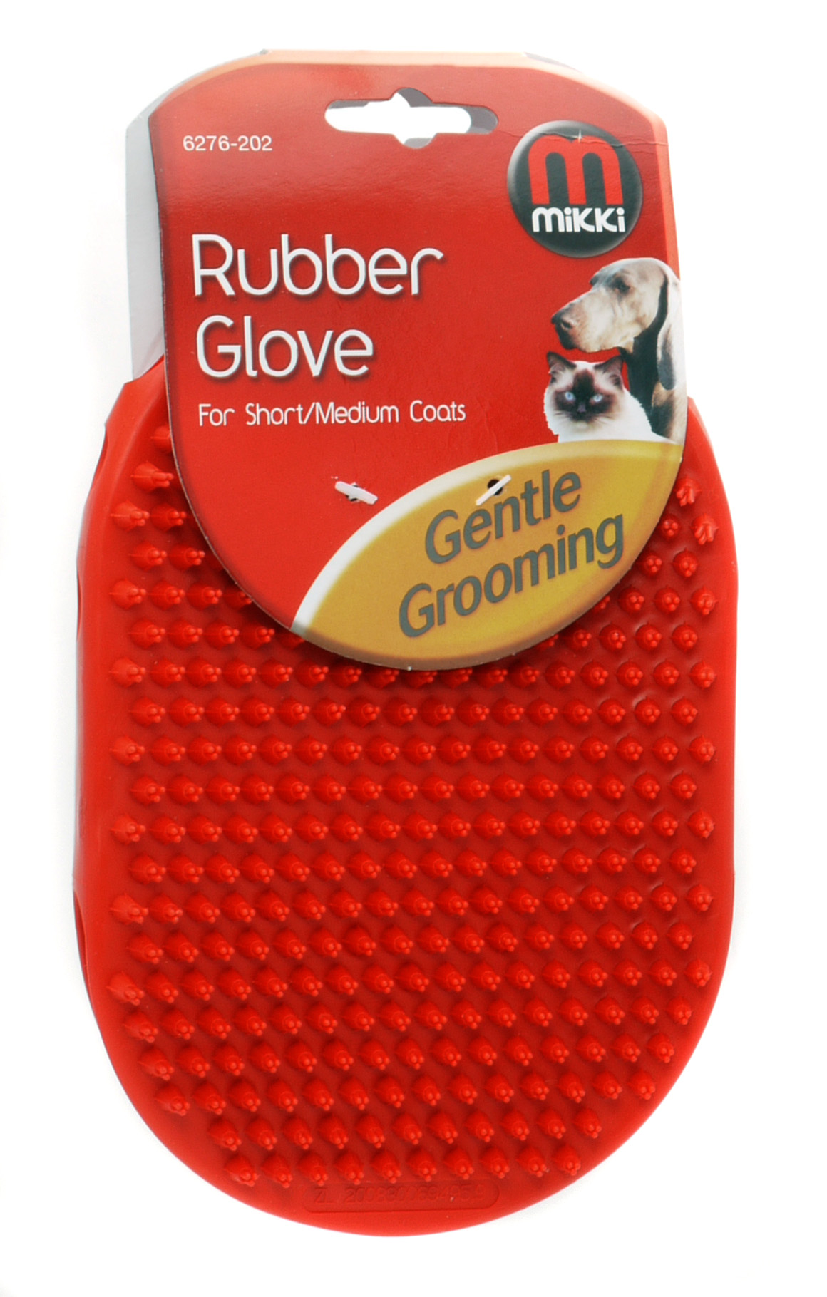 Mikki Rubber Glove For Short Coats