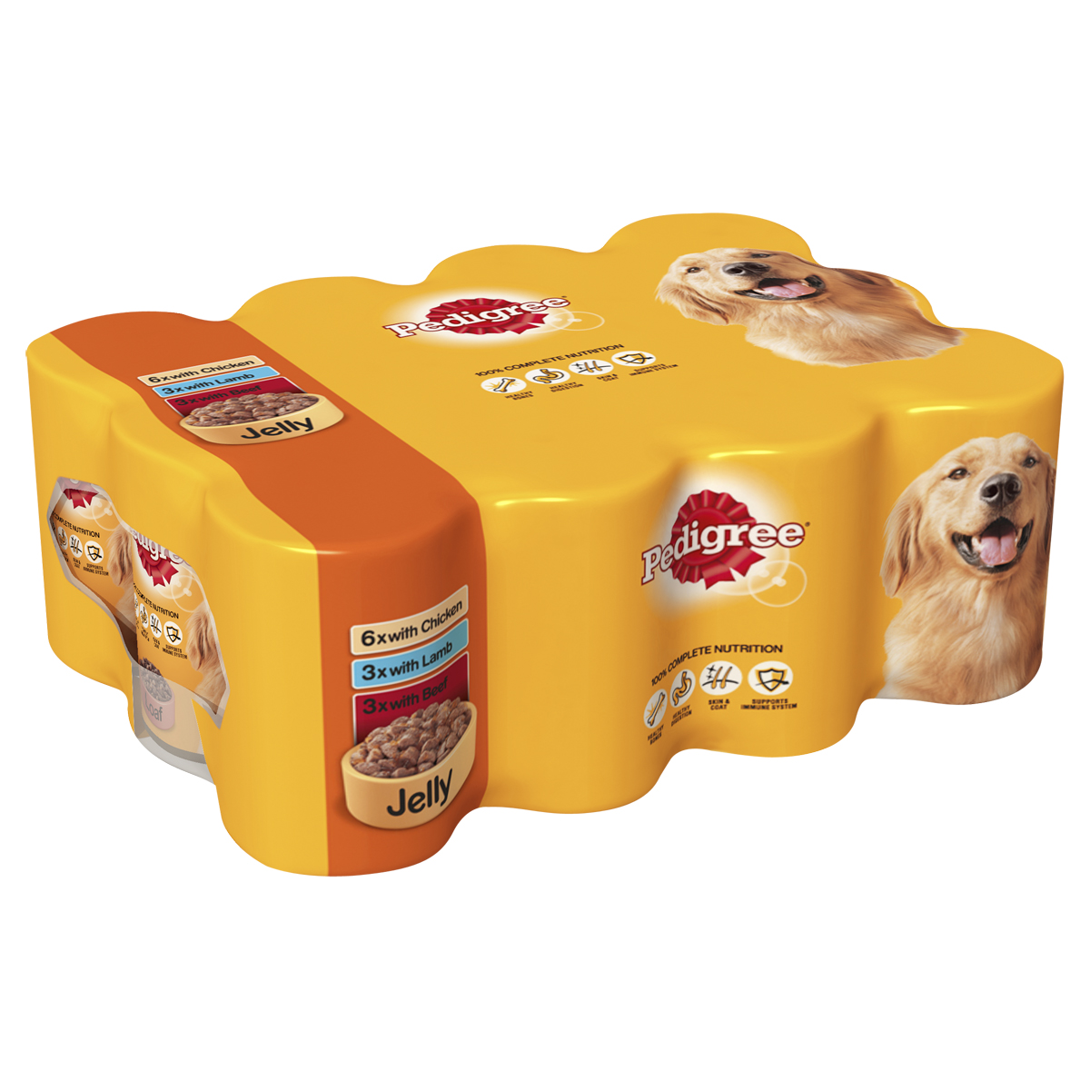 Pedigree Adult Mixed Pack in Jelly Dog Food