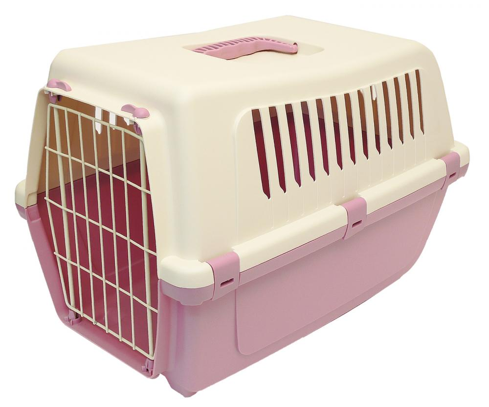 MP Bergamo Vision Classic Plastic Pet Carrier