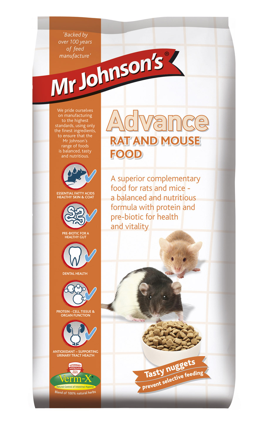 Mr. Johnson's Advance Rat & Mouse Food