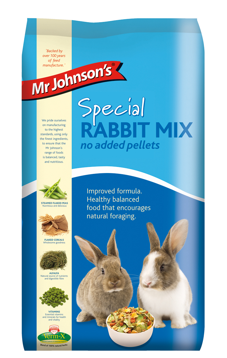 Mr. Johnson's Special Rabbit Mix - No Added Pellets