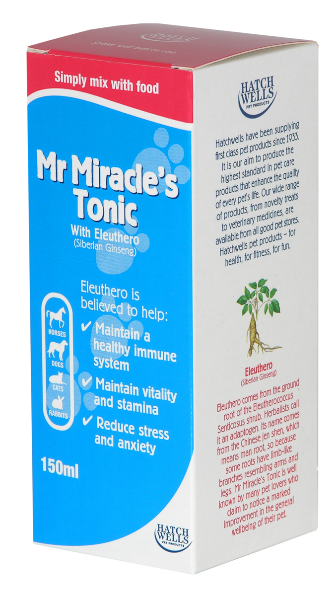 Mr Miracle's Tonic With Eleuthero (Siberian Ginseng)