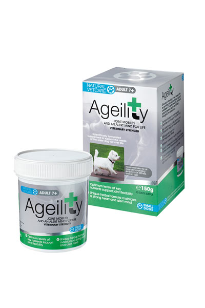 Natural Vetcare Ageility for Dogs