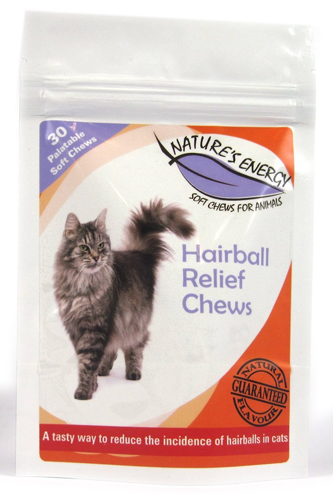 Natures Energy Hairball Relief for Cats