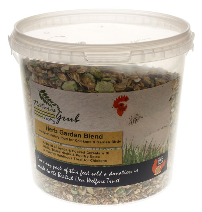 Natures Grub Poultry Garden Blend Chicken Food