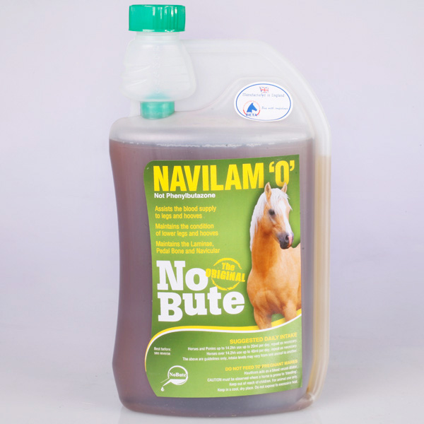 No Bute Navilam 'O' for Horses