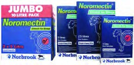 Norbrook Noromectin 0.08% Drench Wormer