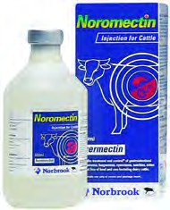 Norbrook Noromectin 1.0% Injection for Parasite Control