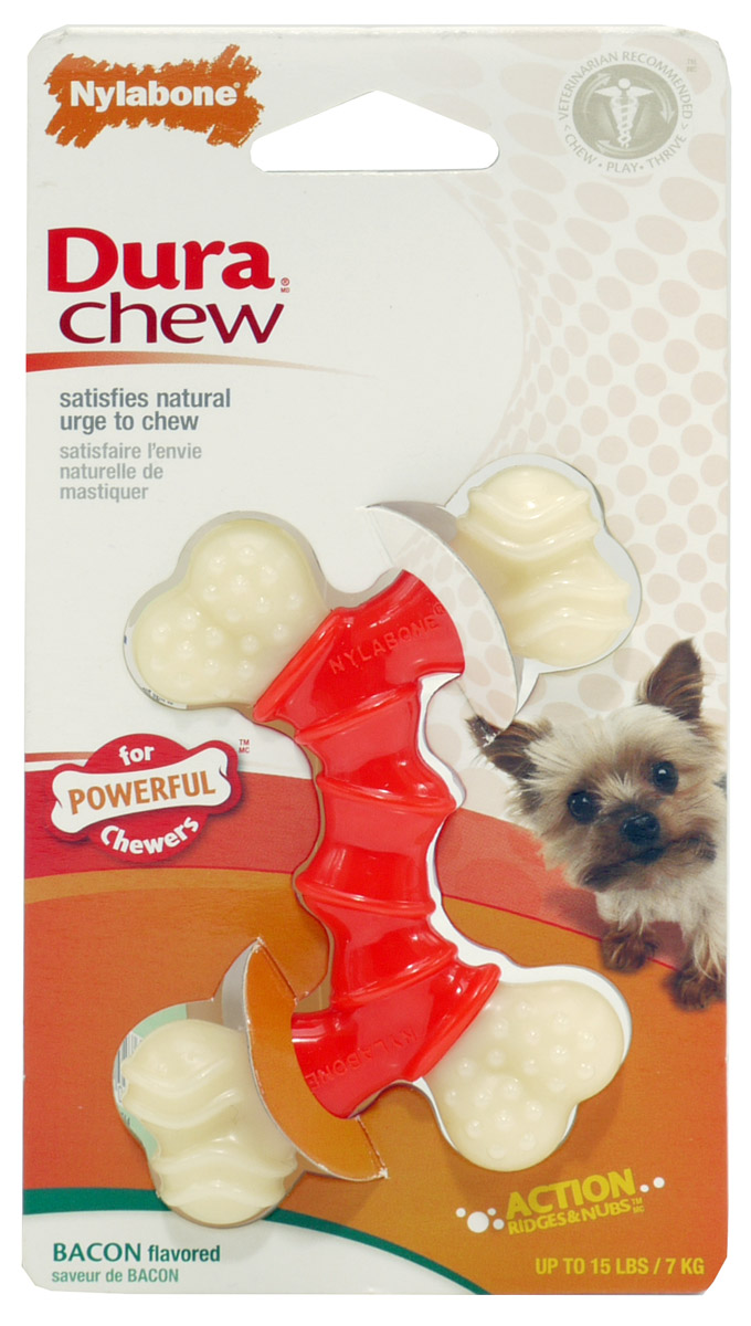 Nylabone Dura Chew Double Bend Dog Toy