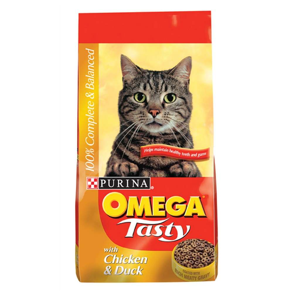 Omega Tasty Chicken & Duck Cat Food