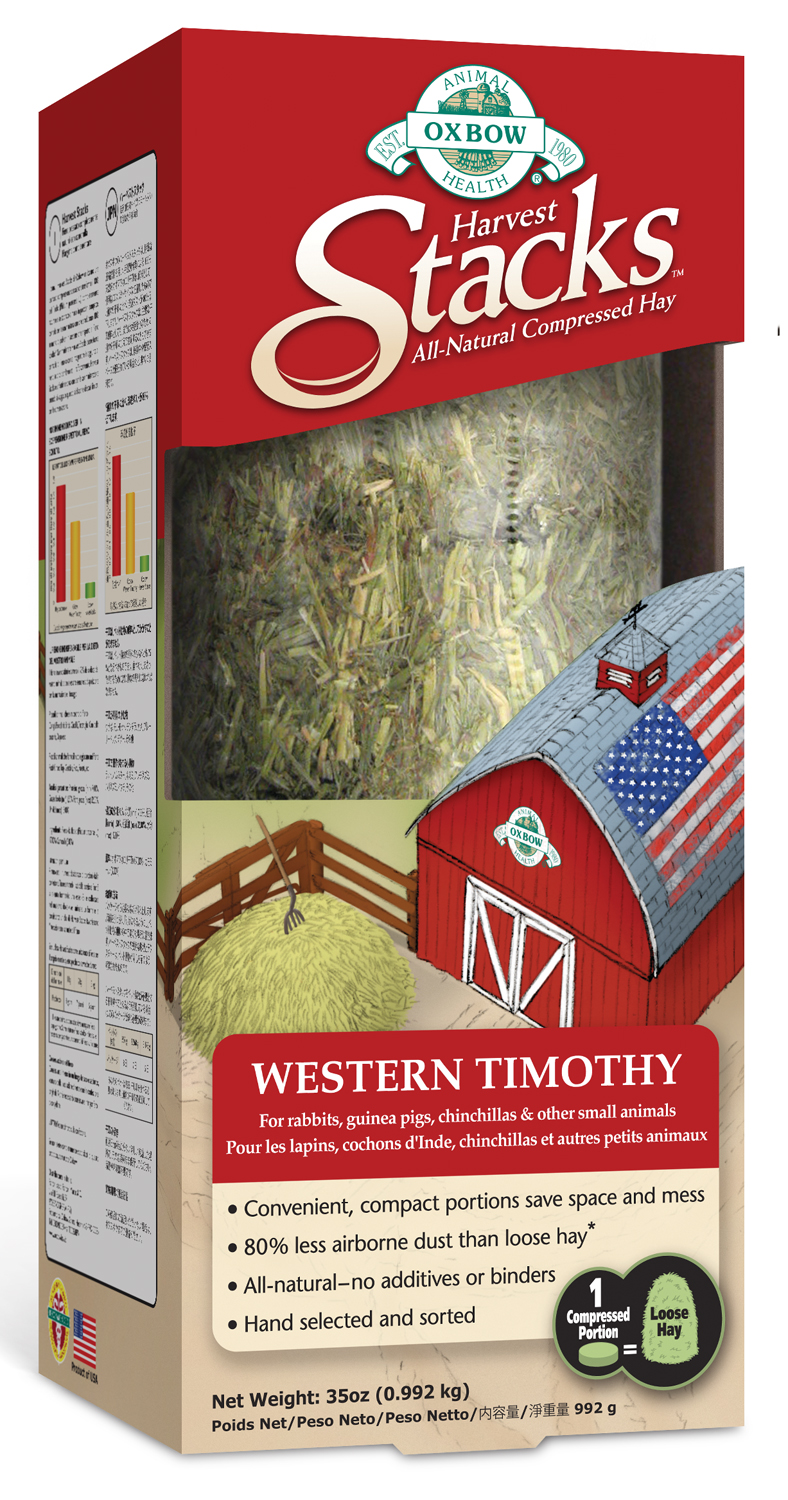Oxbow Western Timothy Harvest Stack