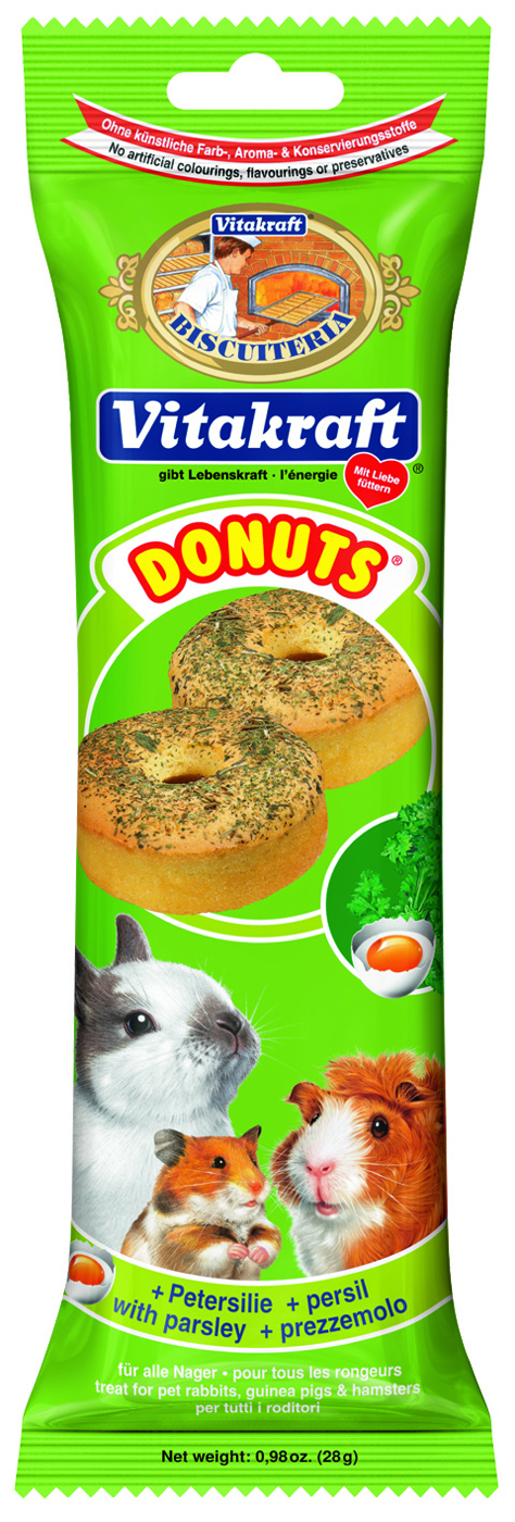 Vitakraft Parsley Donuts Guinea Pig Treats