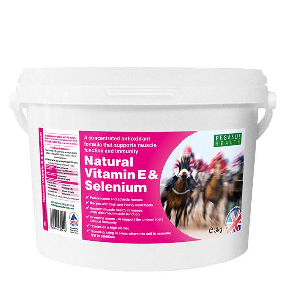 pegasus natural vitamin e amp selenium for horses