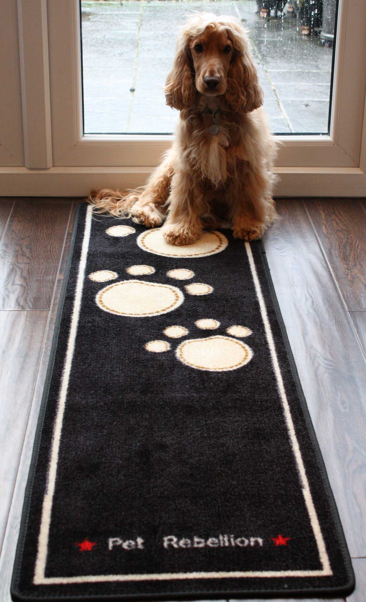 Pet Rebellion 🐶 Dog Runner Non Slip Dog Mat