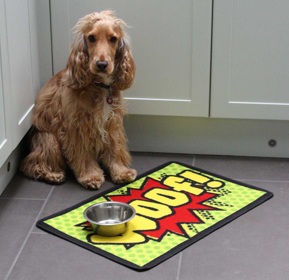 Pet Rebellion Woof 🐶 Dog Placemat