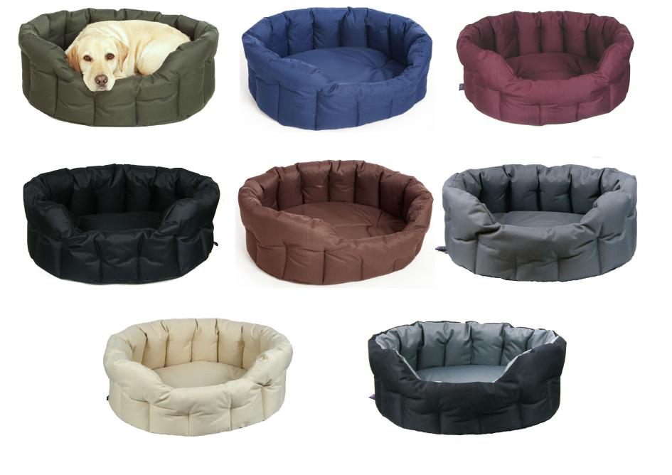 Pets & Leisure Heavy Duty Waterproof Oval Softee Dog Bed