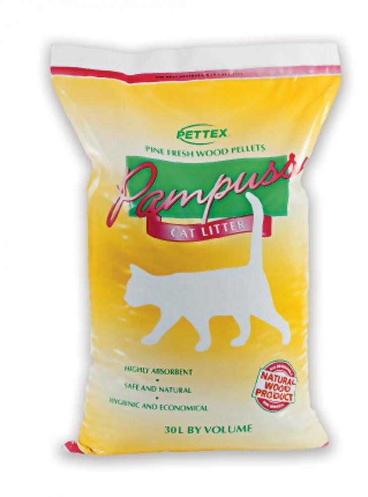 Pettex Pampuss Woodbase Cat Litter