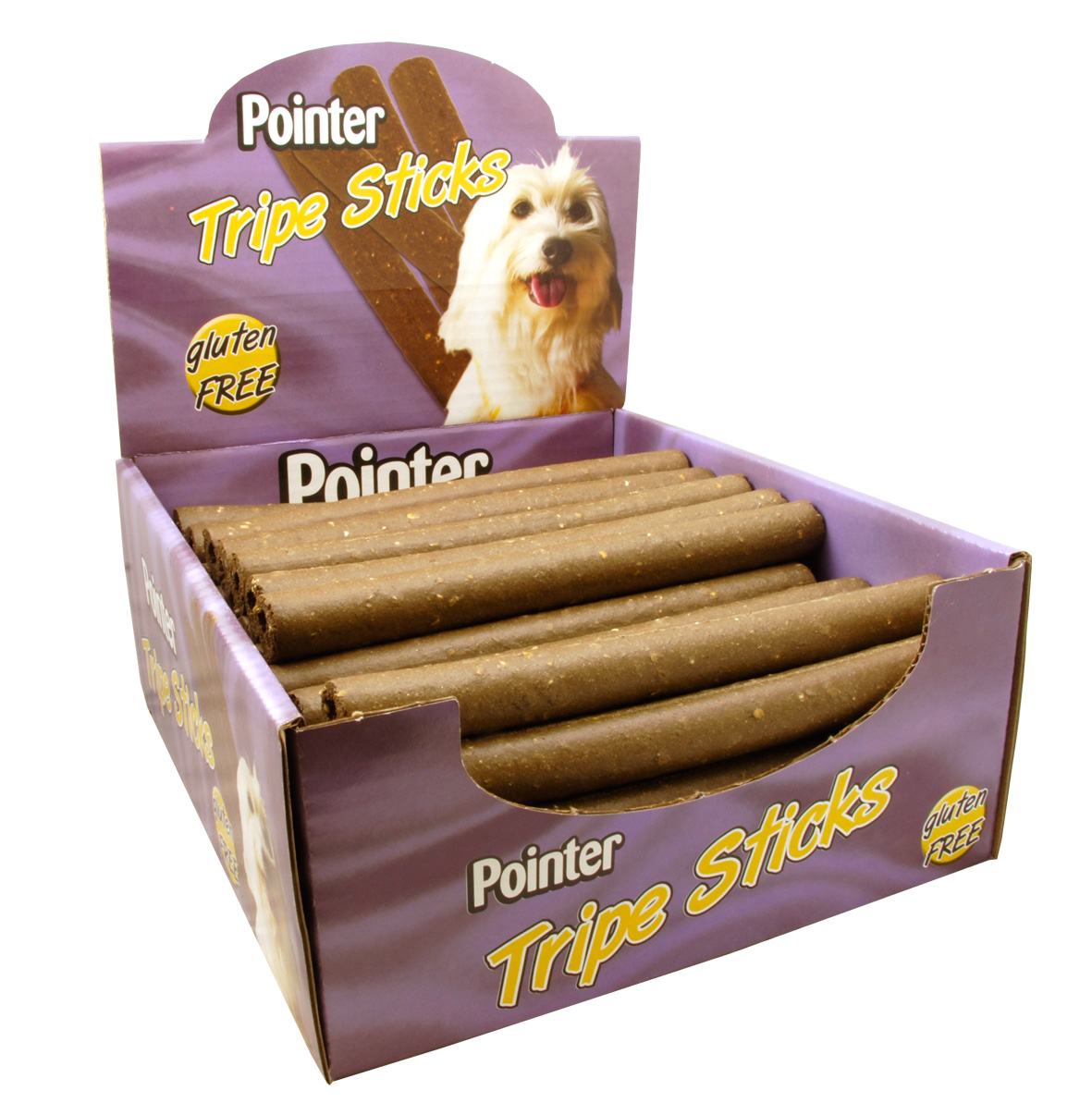 Pointer Tripe Sticks Dog Treats