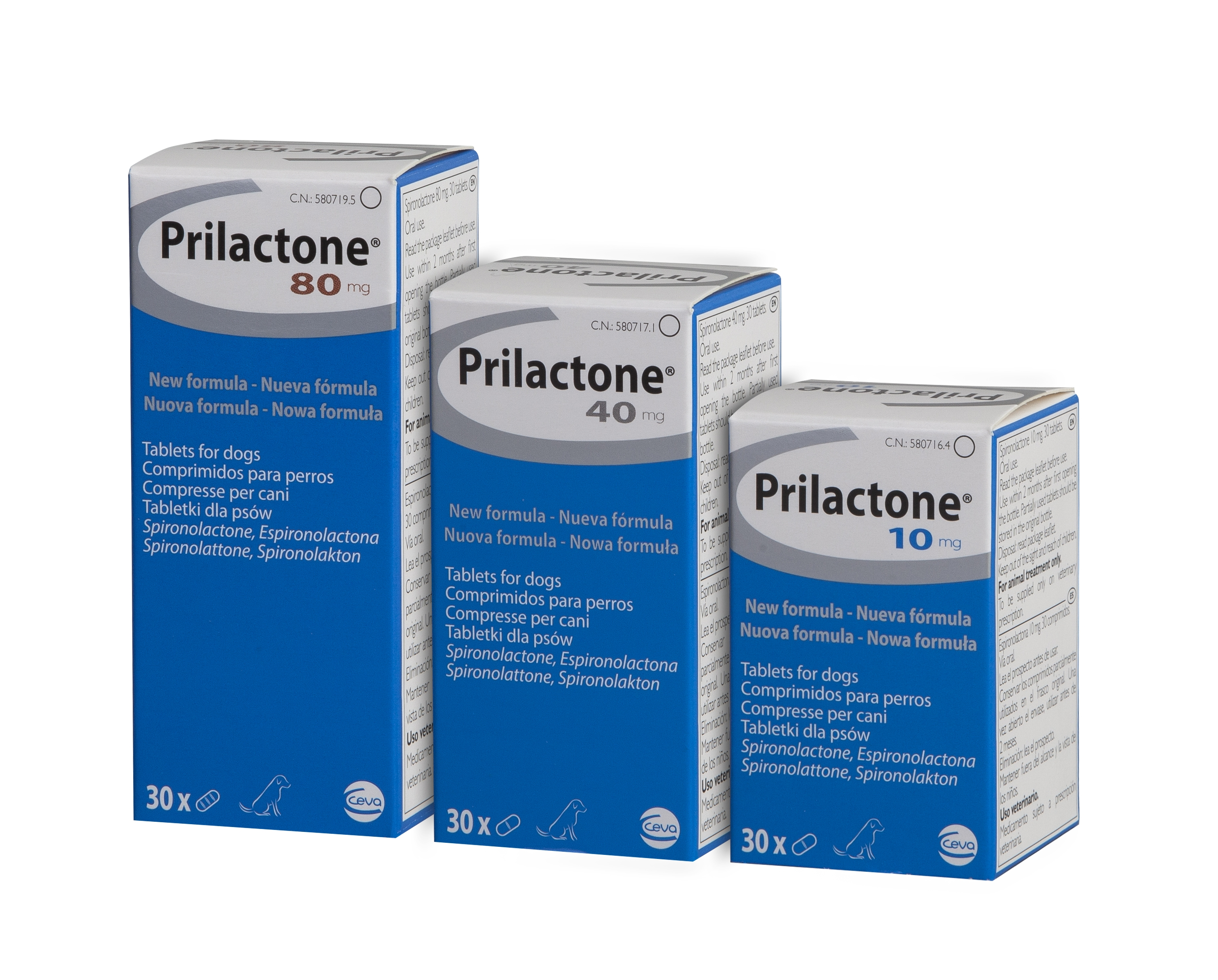Prilactone Tablets for Dogs