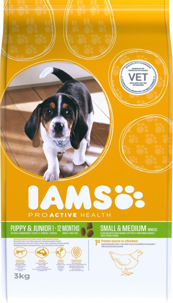 Iams ProActive Health Puppy & Junior Small/Medium Breed Dog Food